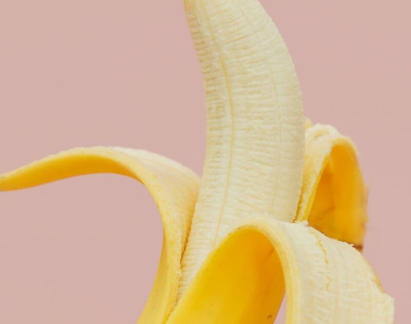banana in primo piano