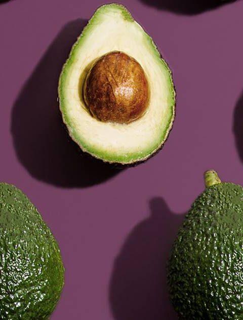 avocado in primo piano