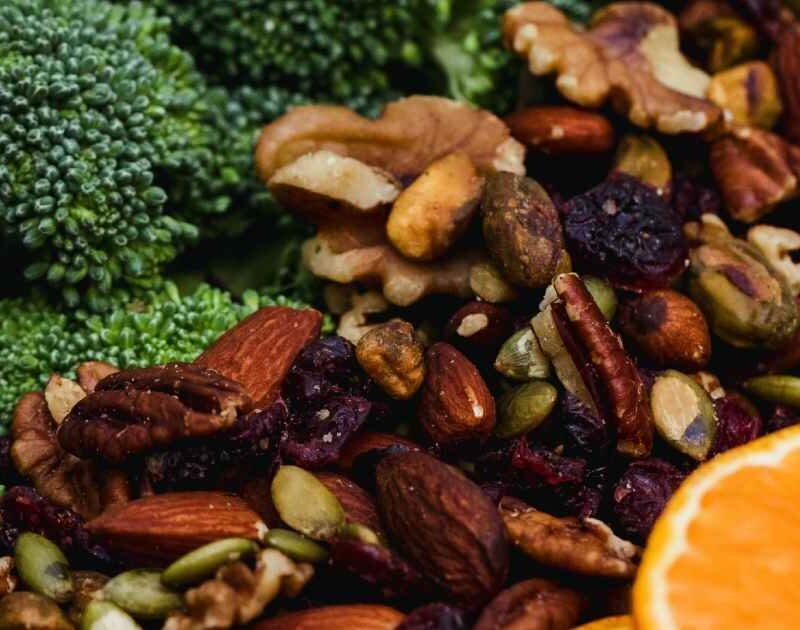 alimenti per vegani in primo piano